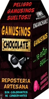 Gamusinos de Chocolate