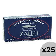Anchoa del Cantabrico Ac.Oliva Zallo  DINGLEY (14 filetes)